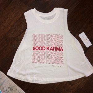 Spiritual gangster-good karma tank-s